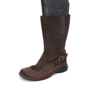 NWOB merrell tetra andover leather brown